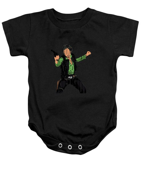 Han Solo From Star Wars Baby Onesie