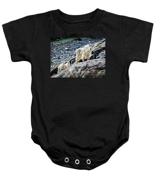 Hanging With The Kids Baby Onesie