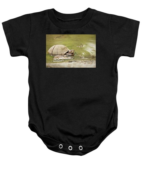 Happy Turtle Baby Onesie