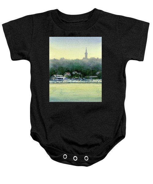 Harbor Master, Port Washington Baby Onesie