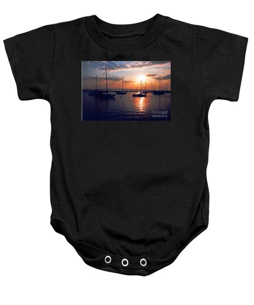 Harbor Sunrise Baby Onesie