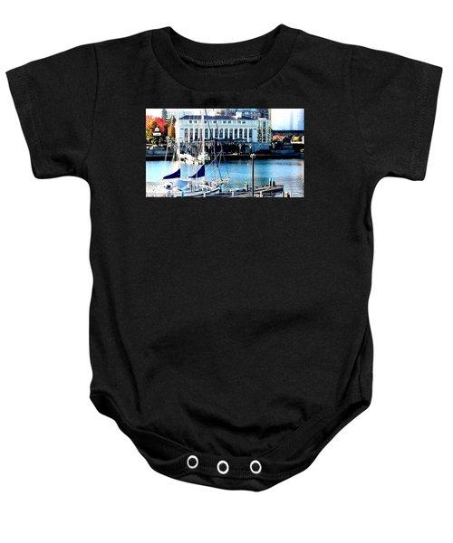 Harbour Sail Baby Onesie