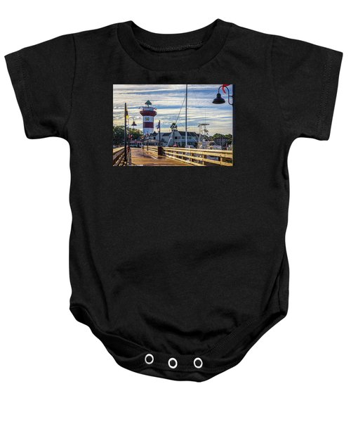 Harbour Town Lighthouse Baby Onesie