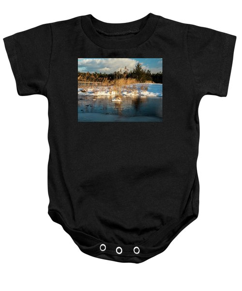 Hard Frosts And Icy Drafts Baby Onesie