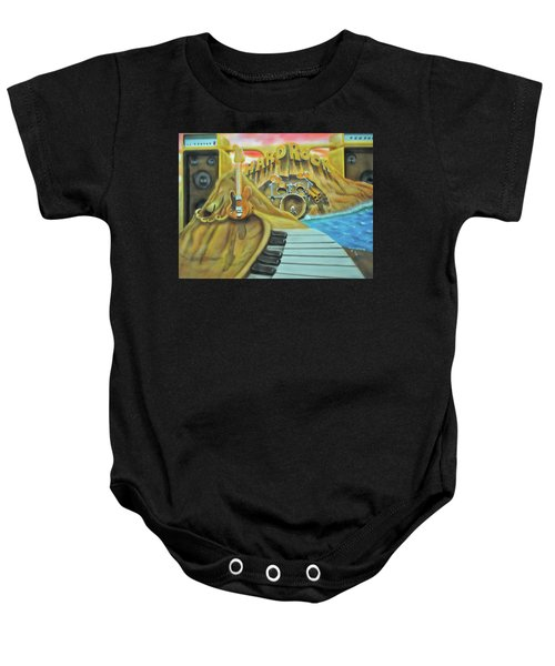 Hard Rock Baby Onesie