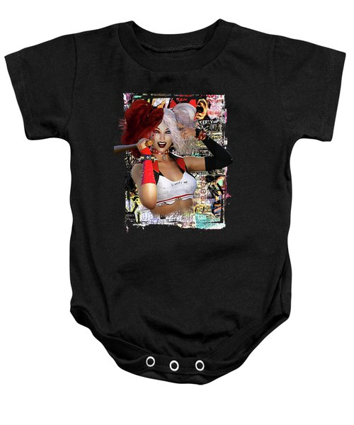 It Wasn't Me Baby Onesie by Shanina Conway