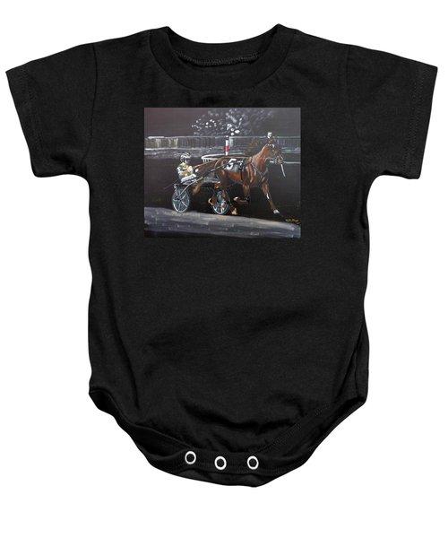 Harness Racing Baby Onesie