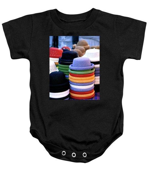 Hats, Aix En Provence Baby Onesie