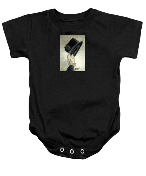 Hats Off To The Holidays Baby Onesie