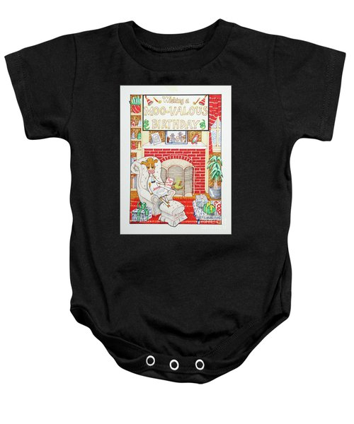 Have A Moovalous Birthday Baby Onesie