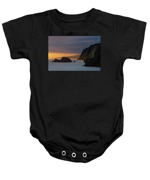 Hawaii Sunrise At The Pololu Valley Lookout Baby Onesie