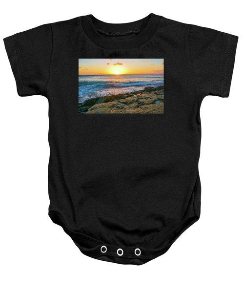 Hawaii Sunset Baby Onesie