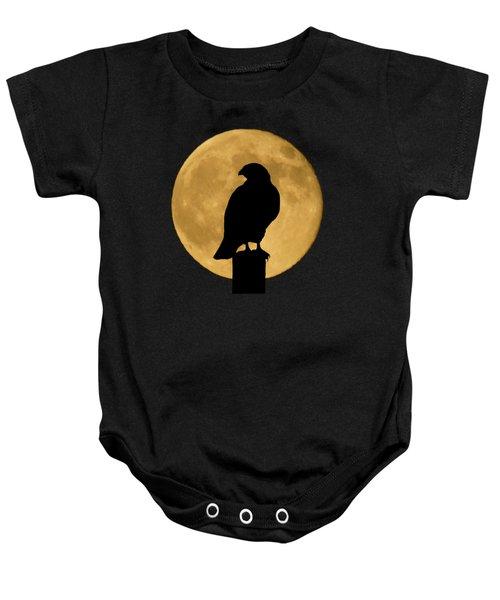 Hawk Silhouette 2 Baby Onesie
