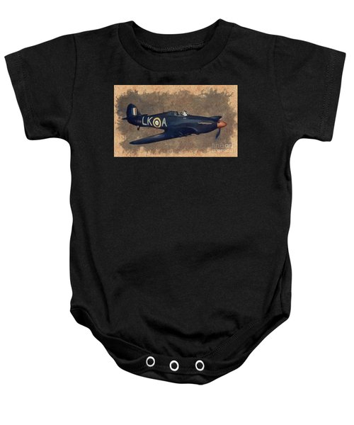 Hawker Hurricane Fighter Baby Onesie