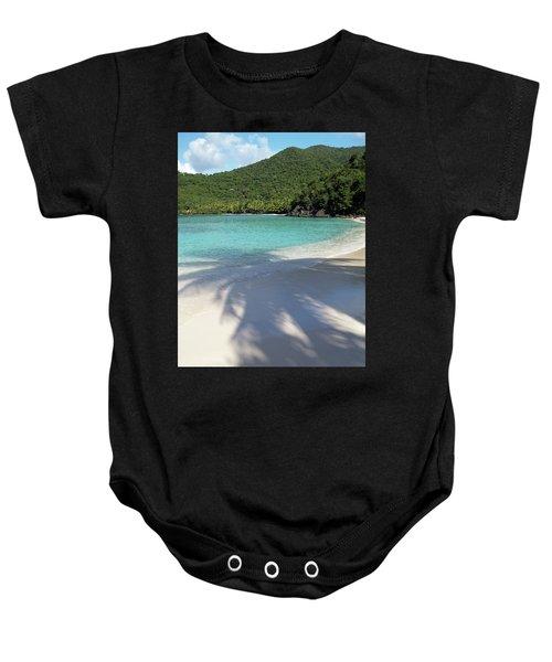 Hawksnest Bay And Gibney Beach Baby Onesie