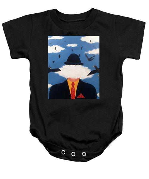Head In The Cloud Baby Onesie