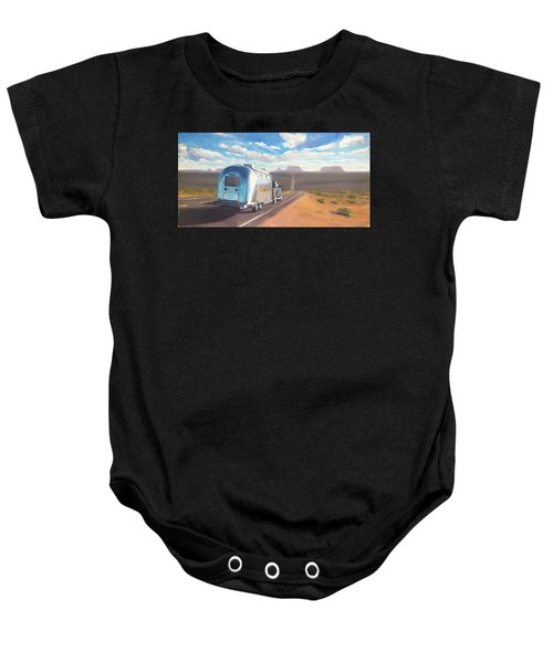 Heading South Towards Monument Valley Baby Onesie