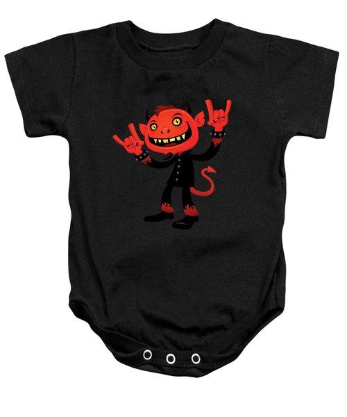 Heavy Metal Devil Baby Onesie