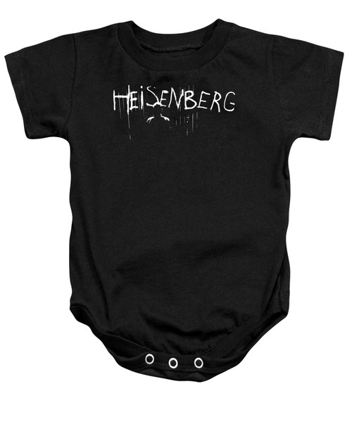 Heisenberg Spraypaint - Breaking Bad Season 5 - Walter White Baby Onesie