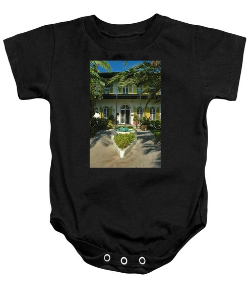 Hemingways House Key West Baby Onesie