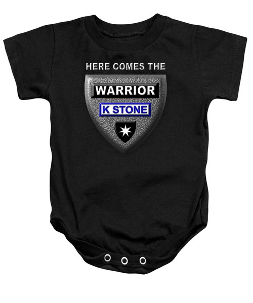 Here Comes The Warrior Baby Onesie