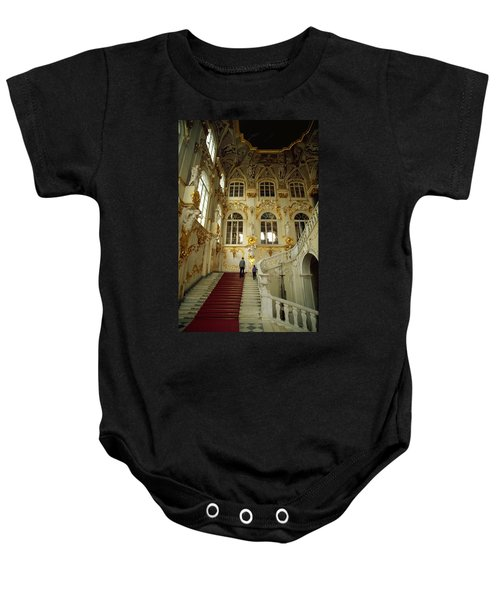 Hermitage Staircase Baby Onesie