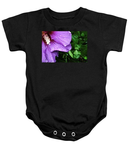Hibiscus Corner Baby Onesie