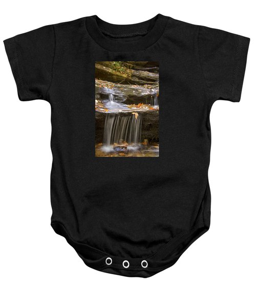 Hidden Falls Detail Baby Onesie
