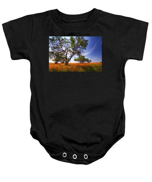 Hill Country Spring Baby Onesie