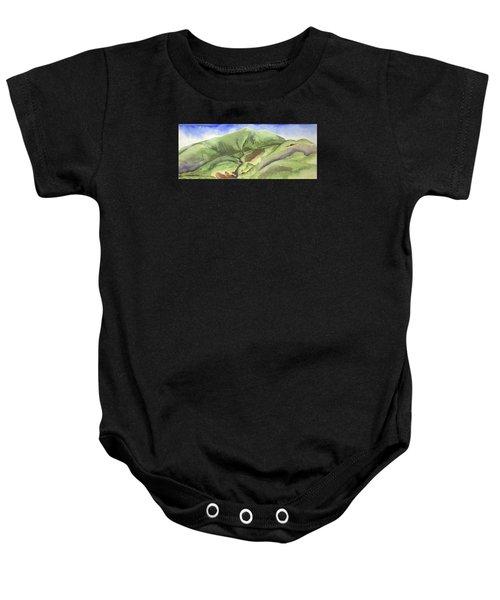 Hillside Panorama Baby Onesie