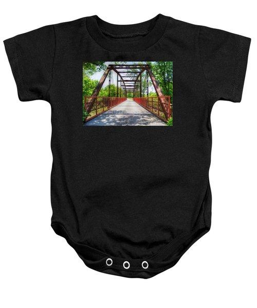 Hinkson Creek Bridge Baby Onesie