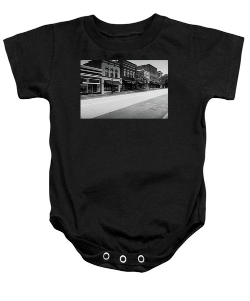 Historic Buford Downtown Area Baby Onesie