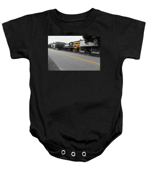 Historic Buford In Selective Color Baby Onesie