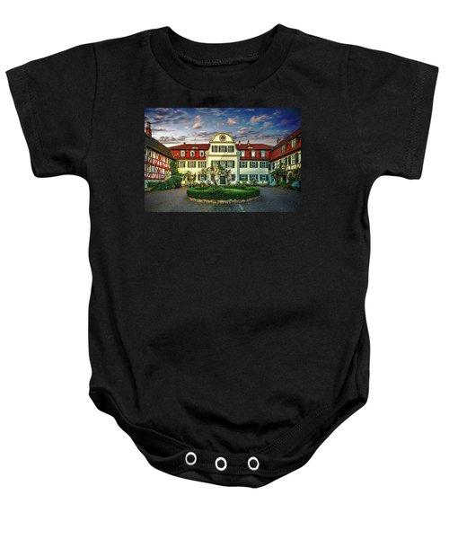 Historic Jestadt Castle Baby Onesie