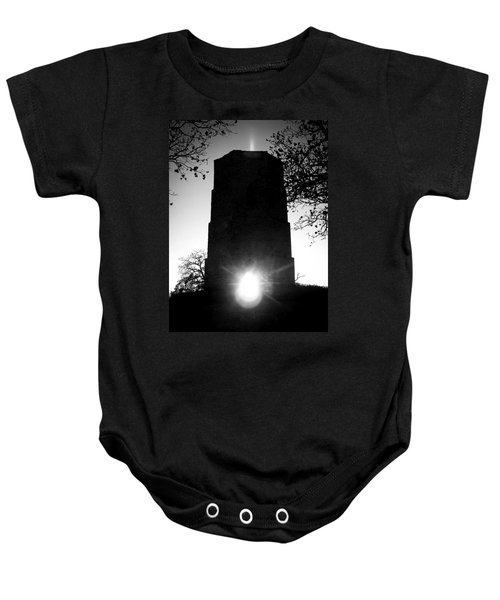 Historical Water Tower At Sunset Baby Onesie