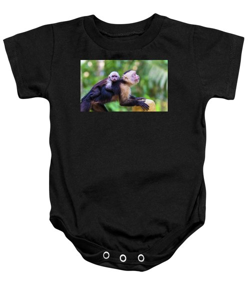 Hitching A Ride Baby Onesie