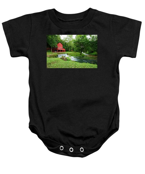 Hodgson Water Mill And Spring Baby Onesie