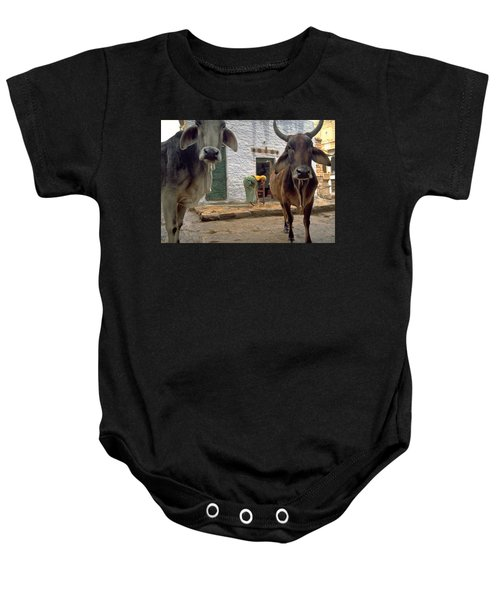 Holy Cow Baby Onesie
