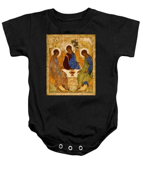 Holy Trinity Andrei Rublev Baby Onesie