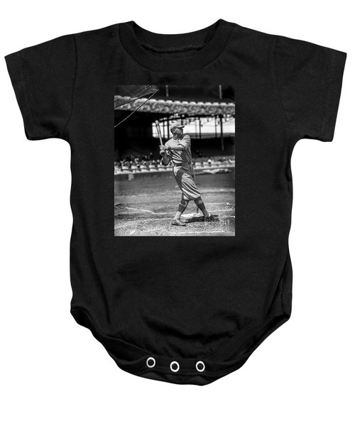Home Run Babe Ruth Baby Onesie