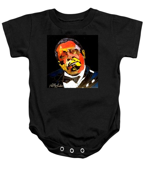 Honoring The King 1925-2015 Baby Onesie