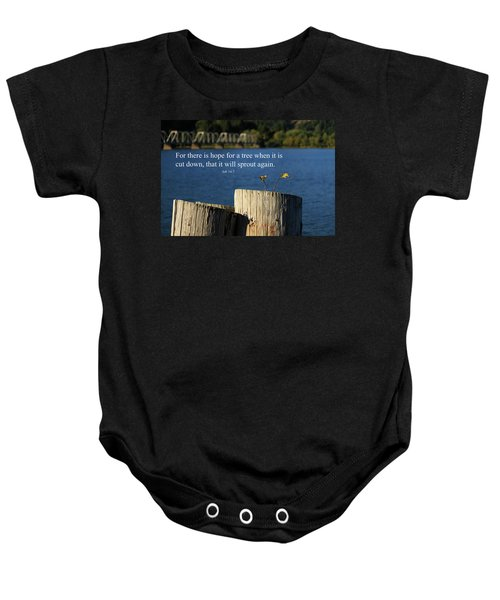 Hope For A Tree Baby Onesie