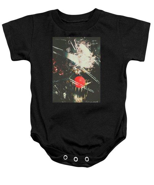 Horror House Of Mirror Baby Onesie
