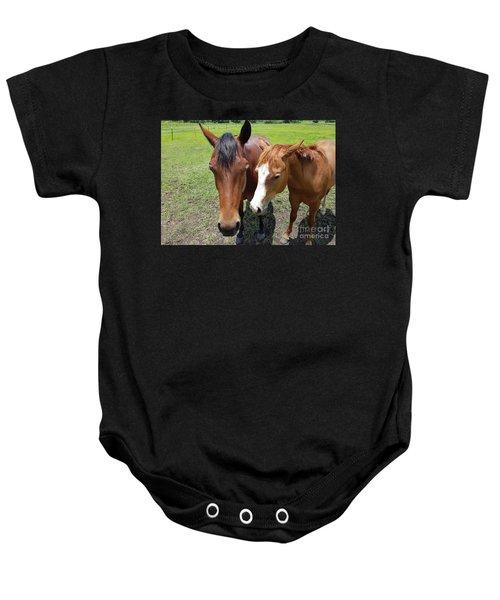 Horse Love Baby Onesie