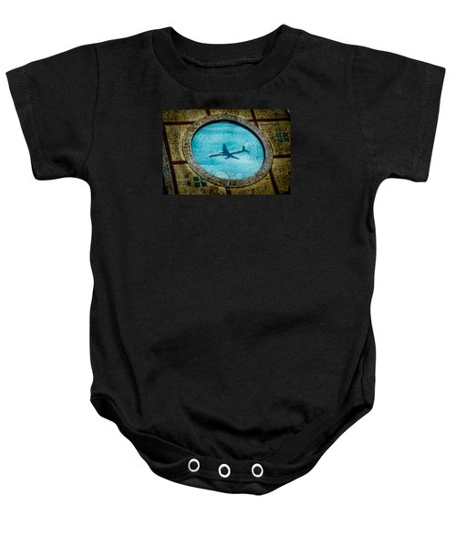 Hot Tub Flight Baby Onesie