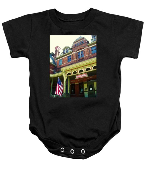 Hotel Florence Pullman National Monument Baby Onesie