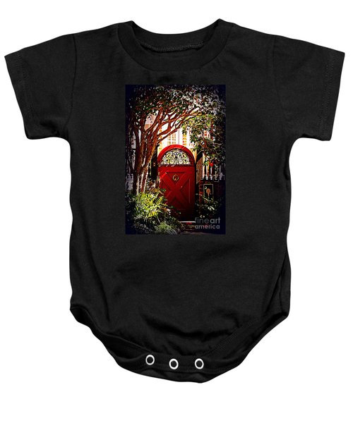 House Door 5 In Charleston Sc  Baby Onesie