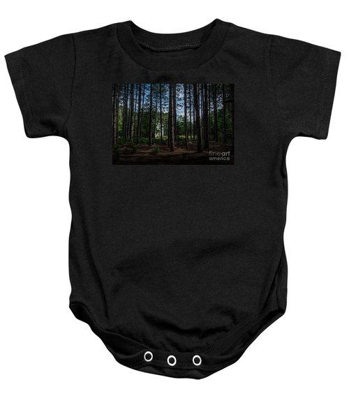 House In The Pines Baby Onesie