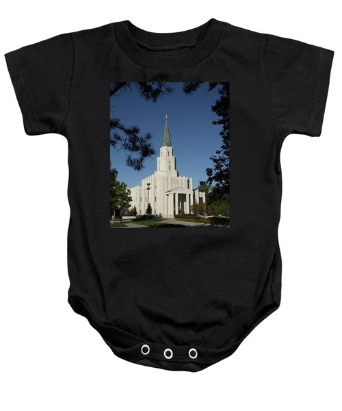 Houston Lds Temple Baby Onesie