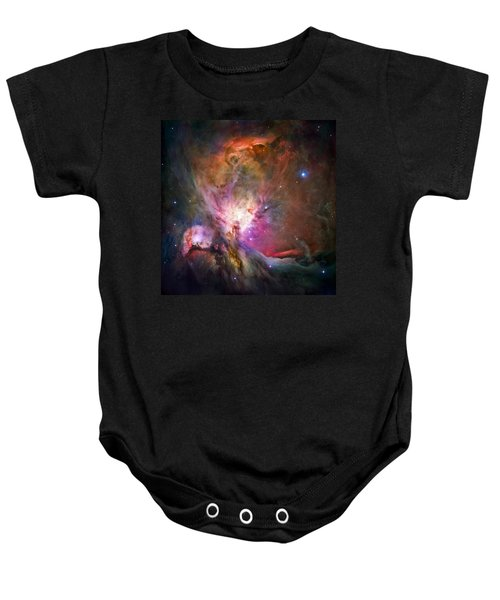 Hubble's Sharpest View Of The Orion Nebula Baby Onesie